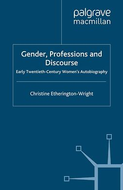 Etherington-Wright, Christine - Gender, Professions and Discourse, ebook