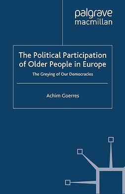 Goerres, Achim - The Political Participation of Older People in Europe, ebook