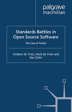 Oshri, Ilan - Standards Battles in Open Source Software, ebook