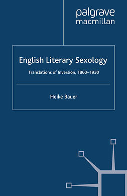 Bauer, Heike - English Literary Sexology, e-bok