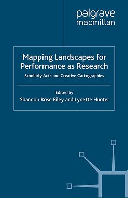 Hunter, Lynette - Mapping Landscapes for Performance as Research, e-bok