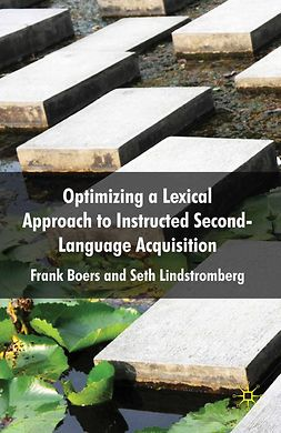 Boers, Frank - Optimizing a Lexical Approach to Instructed Second Language Acquisition, ebook