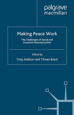 Addison, Tony - Making Peace Work, e-bok