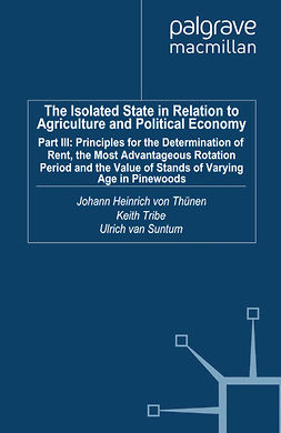 Suntum, Ulrich - The Isolated State in Relation to Agriculture and Political Economy, ebook
