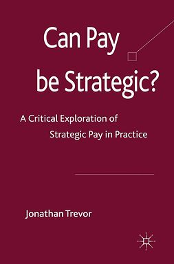 Trevor, Jonathan - Can Pay Be Strategic?, ebook