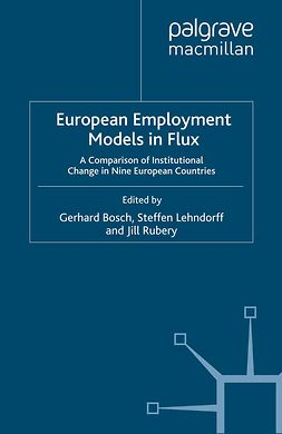 Bosch, Gerhard - European Employment Models in Flux, ebook