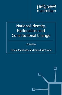 Bechhofer, Frank - National Identity, Nationalism and Constitutional Change, ebook