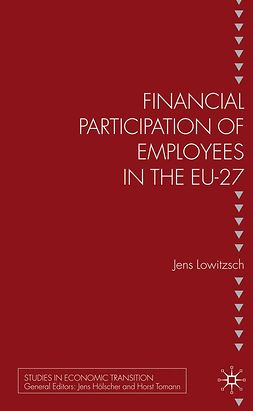 Lowitzsch, Jens - Financial Participation of Employees in the EU-27, ebook