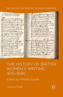 Suzuki, Mihoko - The History of British Women's Writing, 1610–1690, ebook