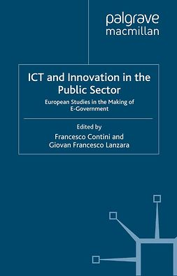 Contini, Francesco - ICT and Innovation in the Public Sector, e-bok
