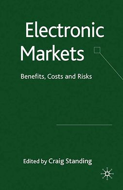Standing, Craig - Electronic Markets, ebook