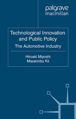 Kii, Masanobu - Technological Innovation and Public Policy, ebook