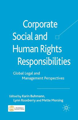 Buhmann, Karin - Corporate Social and Human Rights Responsibilities, ebook