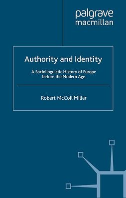 Millar, Robert McColl - Authority and Identity, ebook