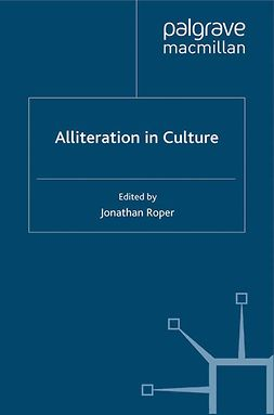 Roper, Jonathan - Alliteration in Culture, ebook