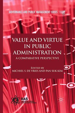 Kim, Pan Suk - Value and Virtue in Public Administration, e-bok