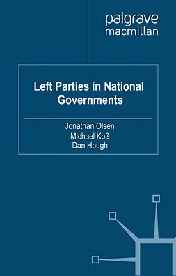 Hough, Dan - Left Parties in National Governments, e-bok