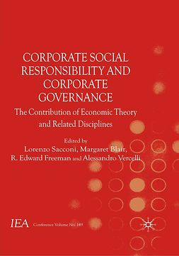Blair, Margaret - Corporate Social Responsibility and Corporate Governance, e-bok