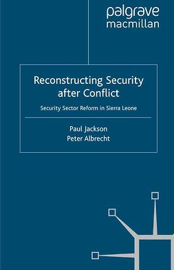 Albrecht, Peter - Reconstructing Security after Conflict, ebook