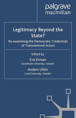 Erman, Eva - Legitimacy Beyond the State?, ebook