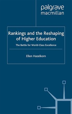 Hazelkorn, Ellen - Rankings and the Reshaping of Higher Education, ebook