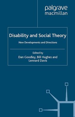 Davis, Lennard - Disability and Social Theory, ebook