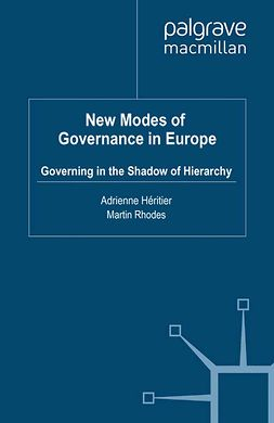 Héritier, Adrienne - New Modes of Governance in Europe, e-bok