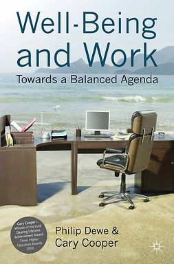 Cooper, Cary - Well-Being and Work, ebook
