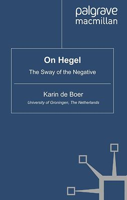 Boer, Karin - On Hegel, ebook