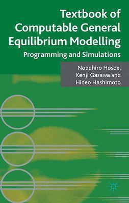 Gasawa, Kenji - Textbook of Computable General Equilibrium Modelling, ebook