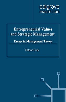 Coda, Vittorio - Entrepreneurial Values and Strategic Management, e-bok