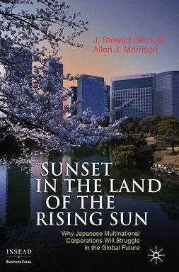 Black, J. Stewart - Sunset in the Land of the Rising Sun, e-kirja