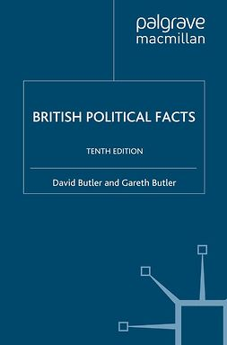 Butler, David - British Political Facts, ebook
