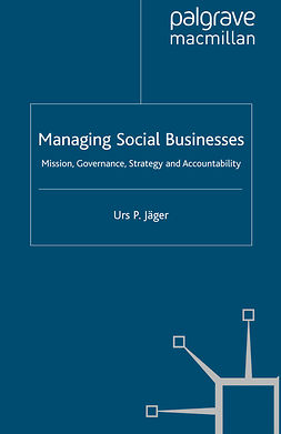 Jäger, Urs P. - Managing Social Businesses, ebook
