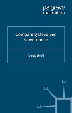 Birrell, Derek - Comparing Devolved Governance, ebook