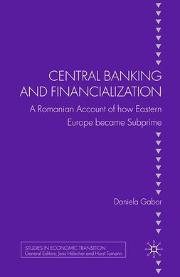 Gabor, Daniela - Central Banking and Financialization, e-bok