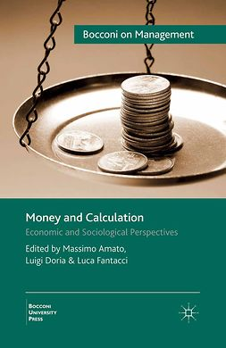 Amato, Massimo - Money and Calculation, ebook