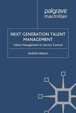 Hatum, Andrés - Next Generation Talent Management, e-bok