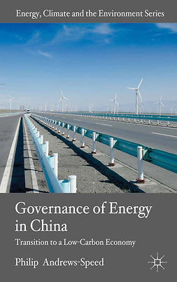 Andrews-Speed, Philip - The Governance of Energy in China, e-bok