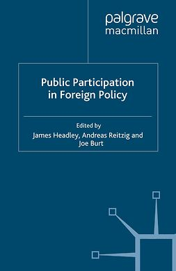 Burton, Joe - Public Participation in Foreign Policy, ebook