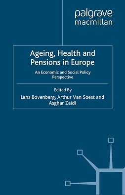 Bovenberg, Lans - Ageing, Health and Pensions in Europe, ebook