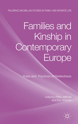 Jallinoja, Riitta - Families and Kinship in Contemporary Europe, ebook