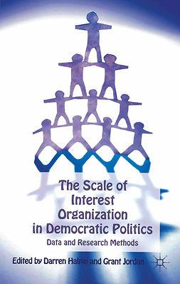 Halpin, Darren - The Scale of Interest Organization in Democratic Politics, e-bok