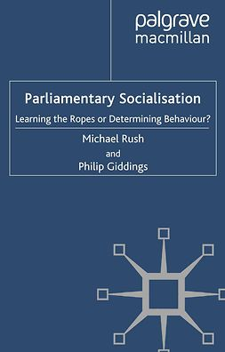 Giddings, Philip - Parliamentary Socialisation, ebook