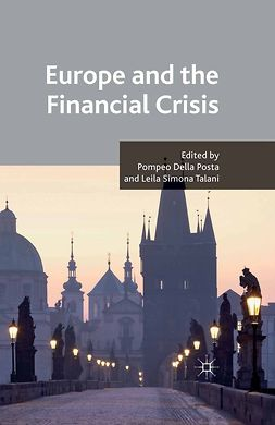 Posta, Pompeo - Europe and the Financial Crisis, e-kirja
