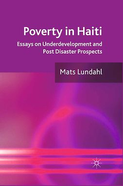 Lundahl, Mats - Poverty in Haiti, ebook