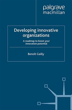 Gailly, Benoît - Developing Innovative organizations, ebook