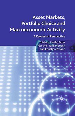 Asada, Toichiro - Asset Markets, Portfolio Choice and Macroeconomic Activity, ebook