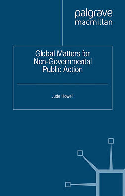 Howell, Jude - Global Matters for Non-Governmental Public Action, e-bok