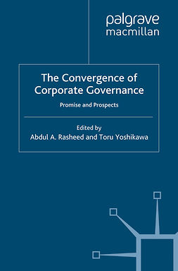 Rasheed, Abdul A. - The Convergence of Corporate Governance, e-kirja